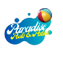 Pool-desing-company-logo-blue-yellow-and-red-beach-ball